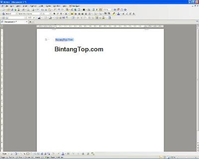 Kingsoft Writer – sebagai alternatif pengganti dari Ms Word