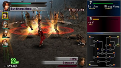 Dynasty Warriors PSP ISO Download for Android