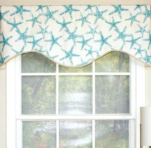 Coastal Valances from Wayfair