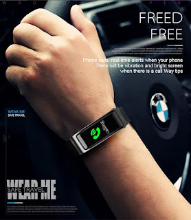 smartwatch auricolare bluetooth talkband