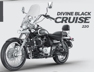 Bajaj Avenger cruise 220 divine black color