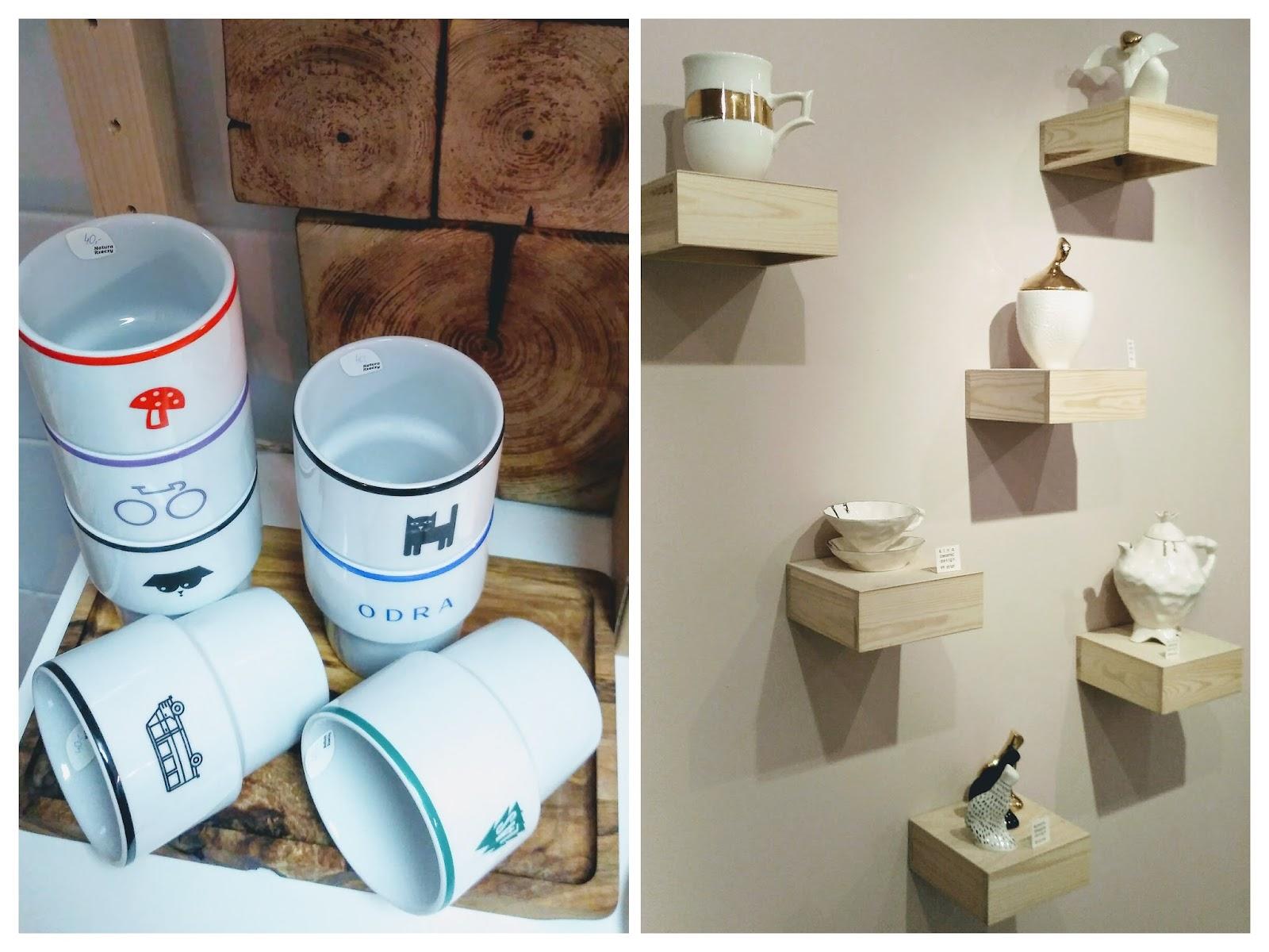kubki MAMSAM w Natura Rzeczy | ceramika w Nado: Barbara Sniegula, Kina Ceramics