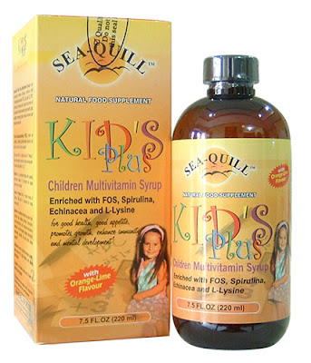 Sea Quill Kid's Plus Multivitami Syrup, Kebutuhan Gizi Anak