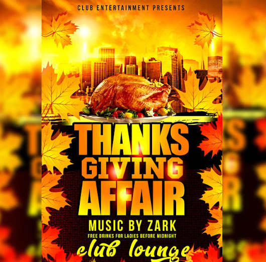 High quality Thanksgiving Flyer designs!