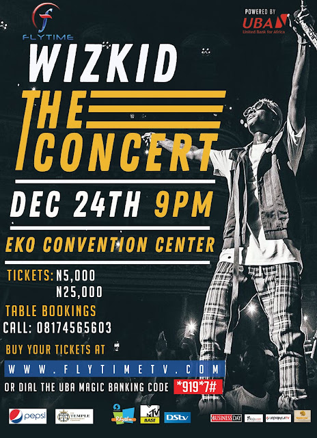 Flytime Promotions announces 2017 Pepsi Rhythm Unplugged artist line-up and  Wizkid: The Concert