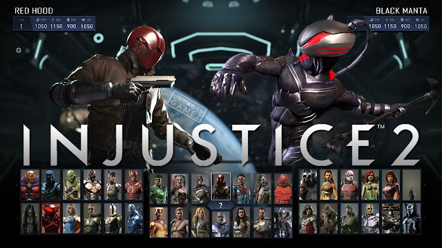 black manta, Red hood, sub zero, starfire