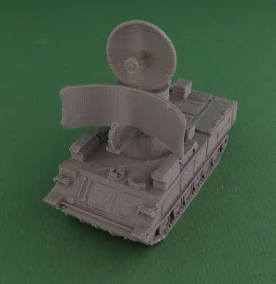 Soviet 1S91 or Straight Flush Radar Vehicle picture 3