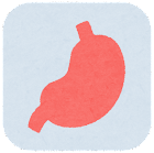 内臓のアイコン(枠付き・胃)