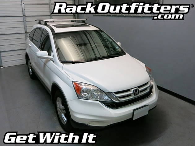 2007-2011 Honda CR-V Roof Rack Fixed Point Connections ...