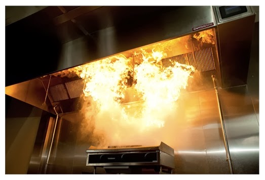 Image result for fire and  cooking-exhaust