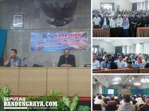 Workshop Pemutakhiran Data Grand Hotel Lembang
