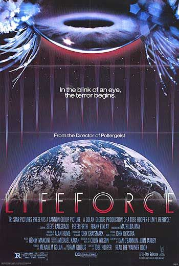 Lifeforce, Tobe Hooper, Vampire films, Horror films, Vampire movies, Horror movies, blood movies, Dark movies, Scary movies, Ghost movies