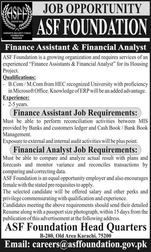Airport Security Force ASF Latest Jobs