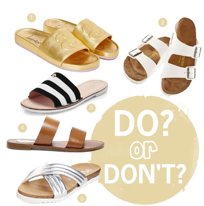 8ea5e9f2d589 DO or DON T  Slide Sandals - A Good Hue