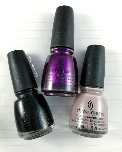 China Glaze Rebel Fall Collection Swatches
