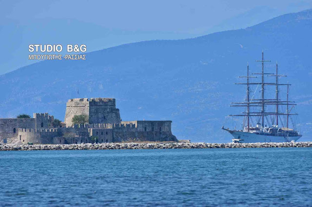 """Sea Cloud"": Ένα ιστορικό σκαρί στο Ναύπλιο"