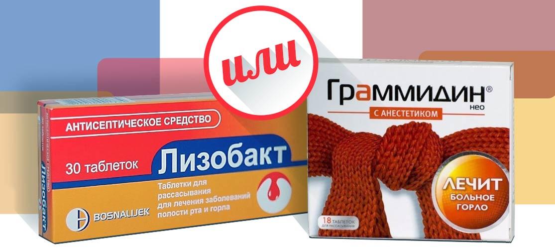 Граммидин и Лизобакт