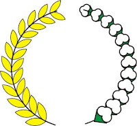 Tutorial Cara Buat Logo Padi dan Kapas