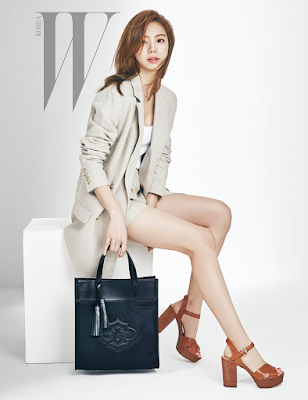Park Soo Jin W Magazine March 2016
