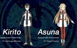 Character Sword Art Online: Ordinal Scale