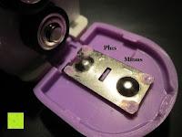 Batterien einlegen: GHB Kontaktloses Infrarot Stirnthermometer Fieberthermometer Köperthermometer Temperature für Baby und Haushalt