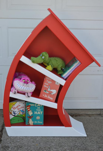 Cat In The Hat Bookcase