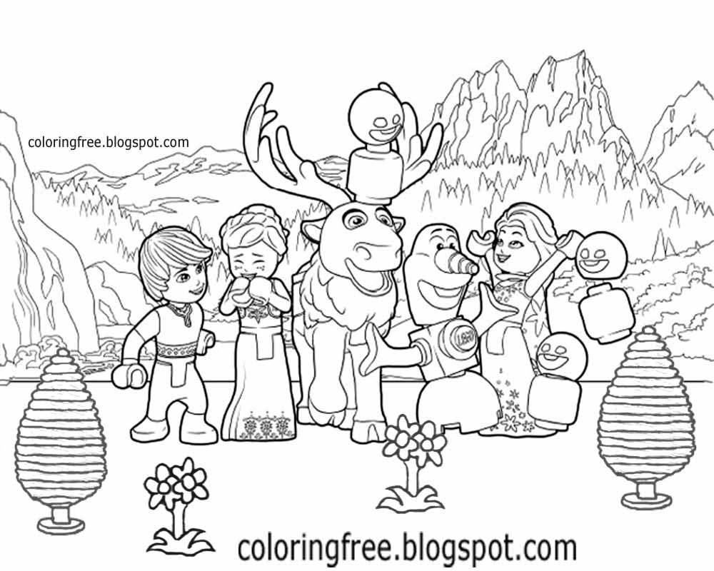 Coloringfree blogspot on printable lego minifigures men coloring