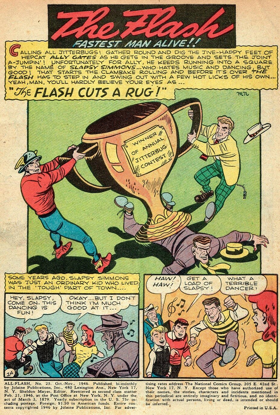 Read online All-Flash comic -  Issue #25 - 2