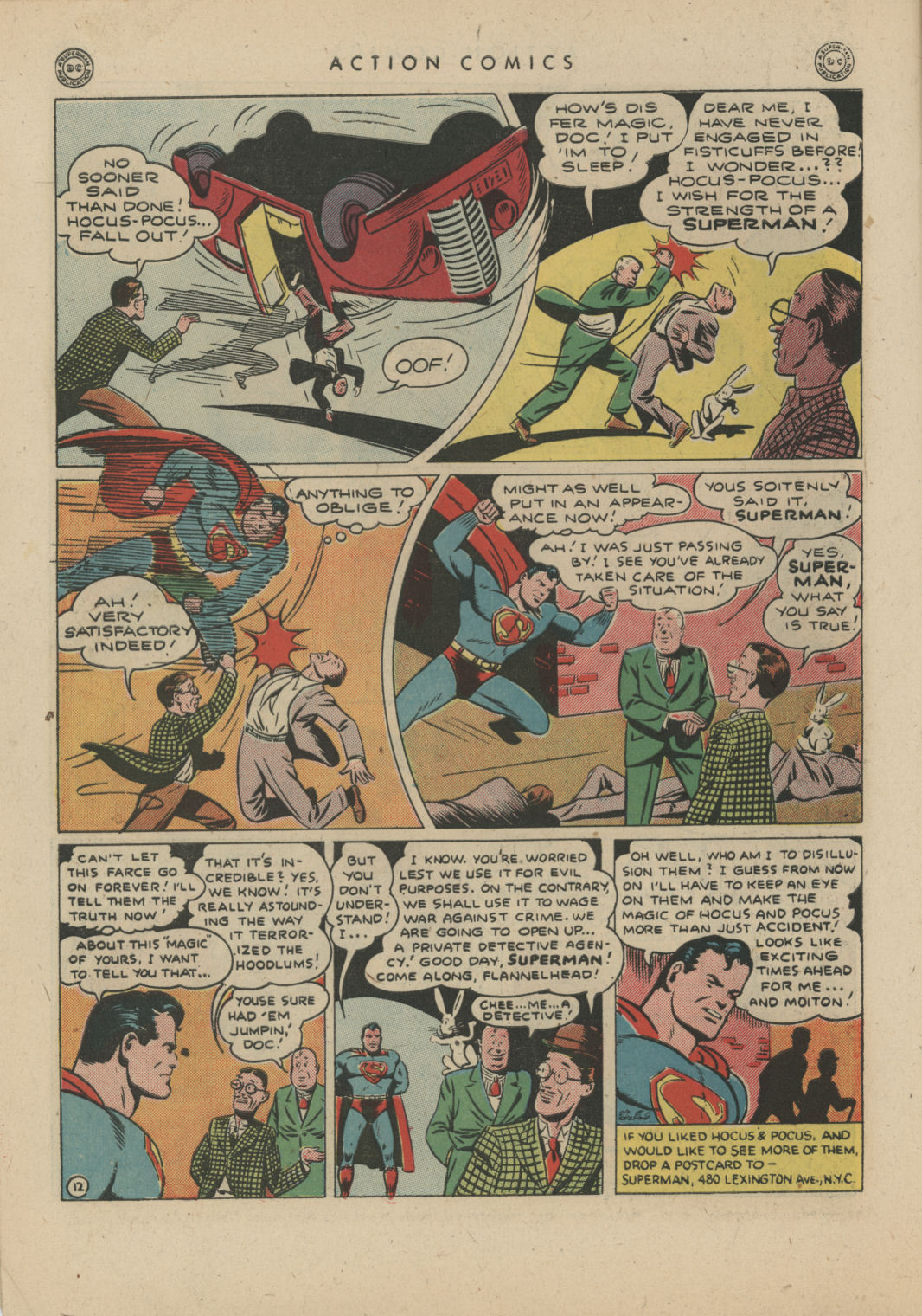 Read online Action Comics (1938) comic -  Issue #83 - 14