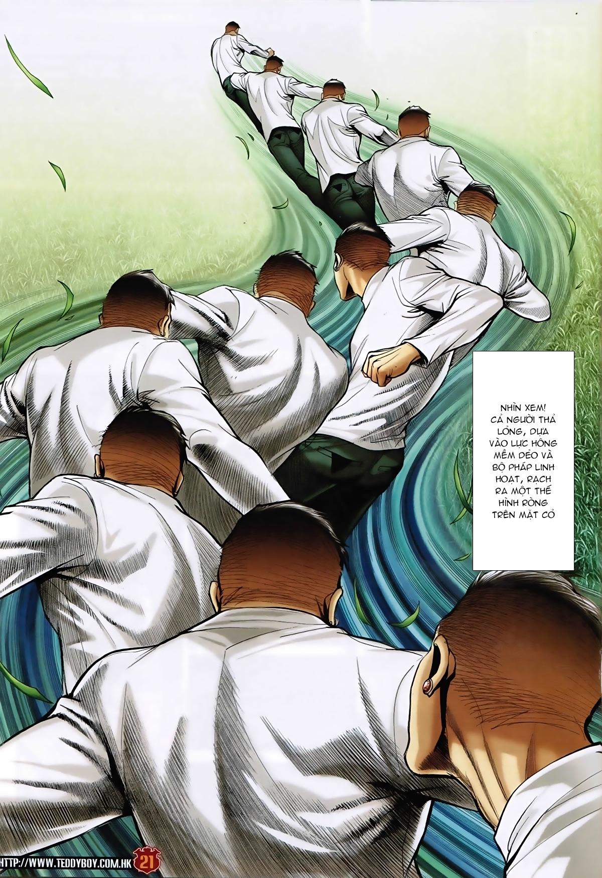 Người Trong Giang Hồ - Chapter 1589: Thu thập A Khắc - Pic 20