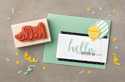 Stampin' Up! Sale-a-bration 2016 Hello Projects