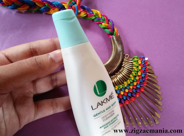 Lakme Gentle And Soft Deep Pore Cleanser Review