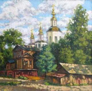 Масляная живопись. Александр Безродных