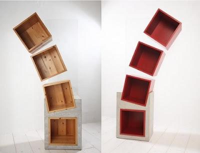 Diseño de librero creativos