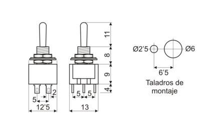 Tecnología 4º E.S.O.: Circuito eléctrico conmutado