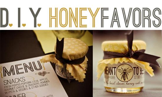 D.I.Y. Honey Favors
