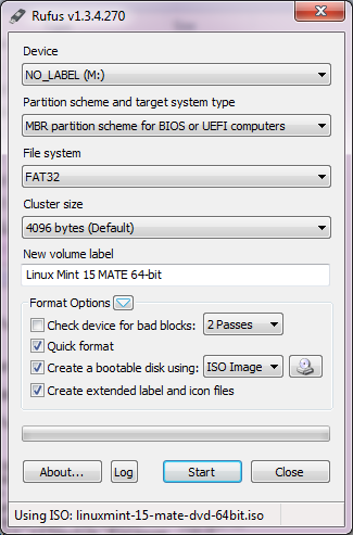 How to create a bootable USB Drive using Rufus