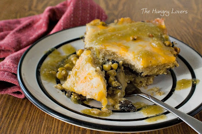 Vegetable Tamale Pie with Green Salsa