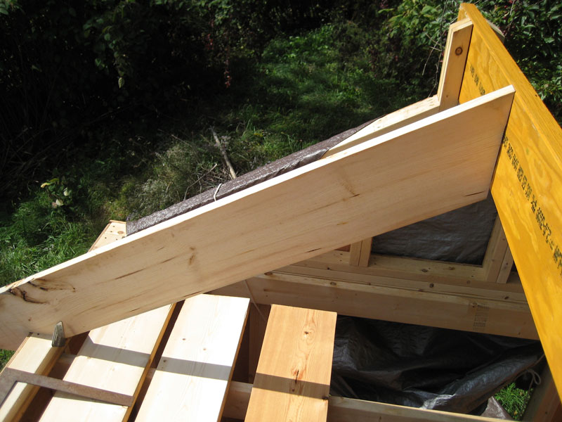 how to work out roof rafters required