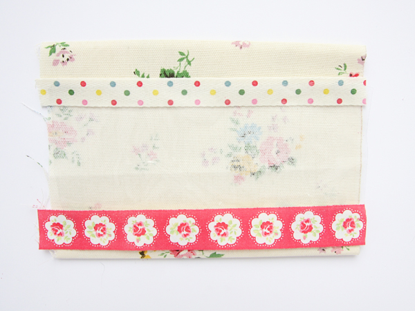 Cath Kidston DIY Pencil Case Ribbons