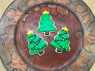 christmas tree cookies, sugar cookies, christmas sugar cookies, christmas cookies