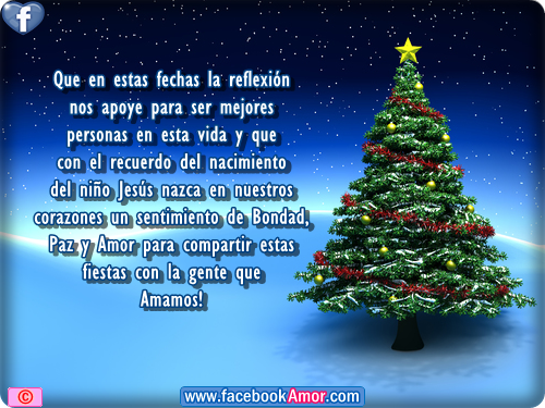 Imagenes bonitas de navidad con mensajes - Bonitas tarjetas de navidad ...