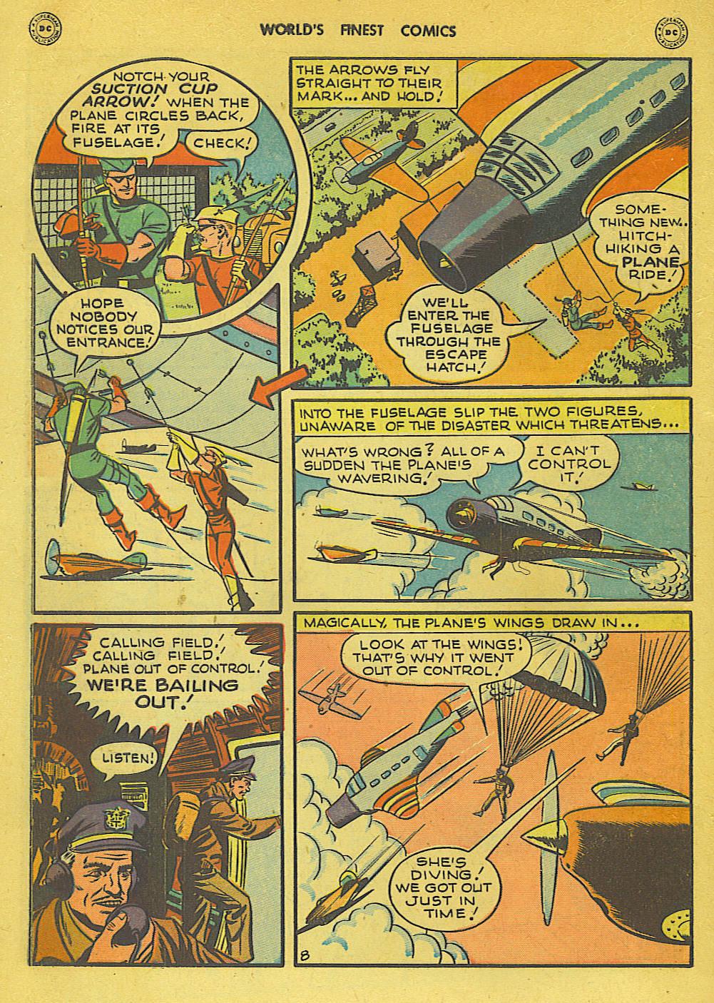 Read online World's Finest Comics comic -  Issue #34 - 48