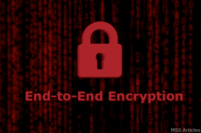 What is End-to-End Encryption or E2EE?