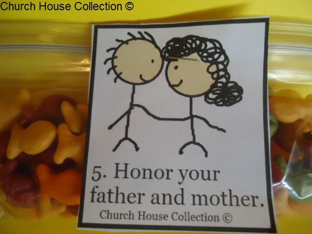 Church House Collection Blog Ten Commandments Snacks