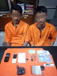 Bawa 1 Ons Narkoba Jenis Sabu Sabu, 2 Pria Ini Diringkus Polisi