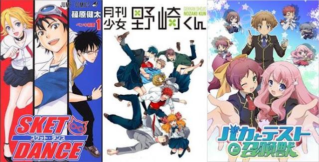 rekomendasi anime paling lucu