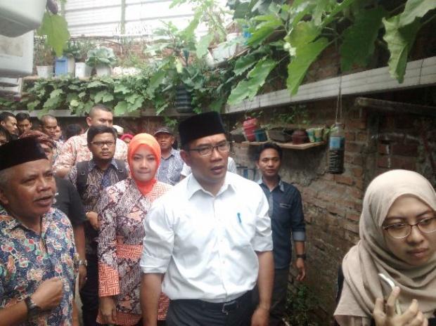 Dikiritik Soal Banjir, Begini Respon Ridwan Kamil