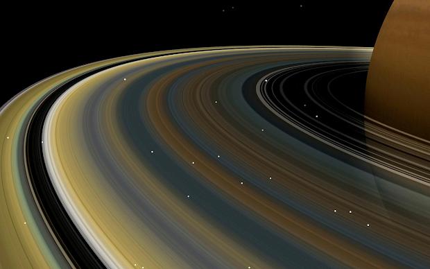 Planet Saturn Rings