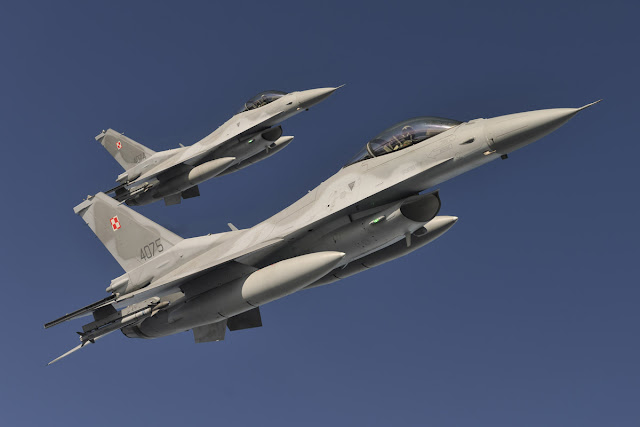 Lockheed Martin F-16 of Polish Air Force